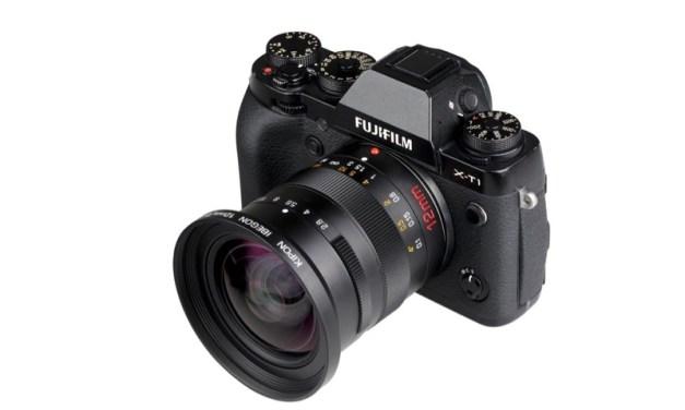 Kipon anuncia su primer objetivo: un 12mm f/2,8 para la Montura Fujifilm X