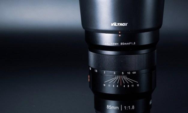 Nuevo objetivo Viltrox 85mm f/1,8 autofocus para las monturas Sony E y Fujifilm X