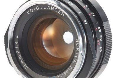 Voigtlander lanza su nuevo objetivo Nokton Classic 35mm f/1,4 II para la Montura-L