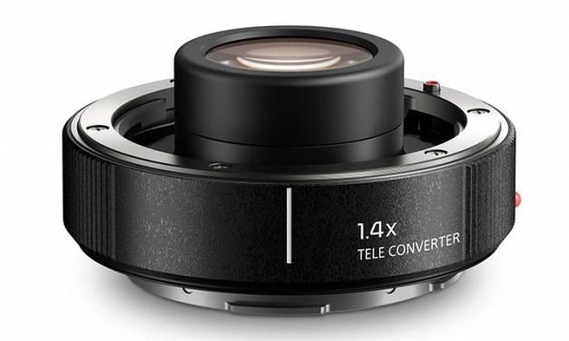 Panasonic anuncia teleconvertidores 1,4x and 2x para su montura S Full frame