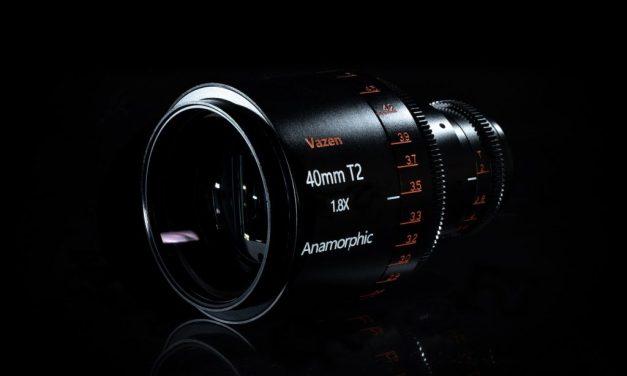 Vazen presenta su primera lente anamórfica para Micro 4/3, un 40mm T2, y tiene muy buena pinta