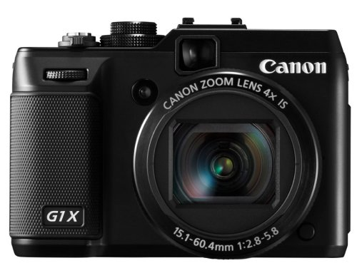 New Canon Powershot G1X Digital Point-and-Shoot With SLR control