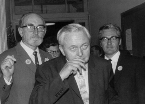 Dad and Harold Wilson