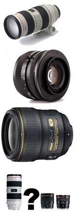 Buying lenses