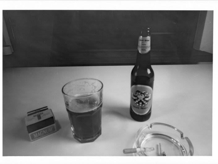 Stilleben: Bier & Ziggi