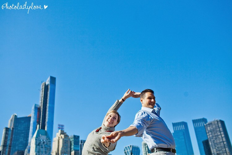 engagement session, New York City, NYC, Central Park, e session, Ali Russo, Joshua Nassi
