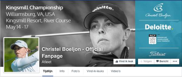 Christel Boeljon | Facebook header - Design, Photoshop