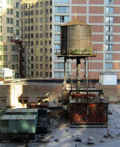 Rooftop Palette by Debra Pruskowski