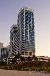 Beach building