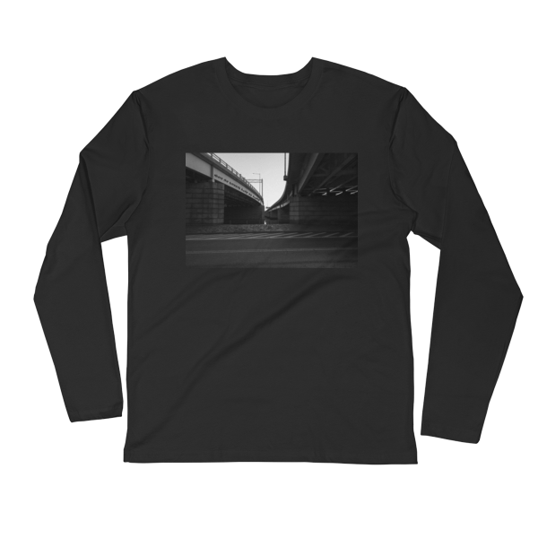 Where-the-streets-have-no-name-Photomusicology-Carla-Durham-unisex-long-sleeve-t-shirt-black