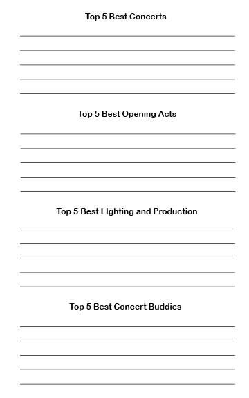 top-5-concert-journal