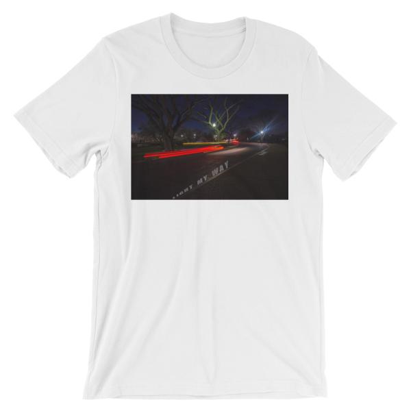 Light-My-Way-Photomusicology-Carla-Durham-unisex-t-shirt-white