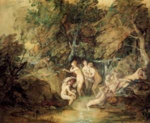 Gainsborough diana und actaeon