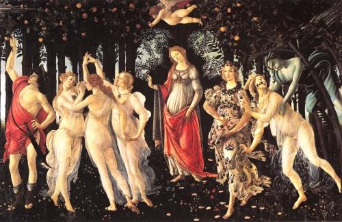 Primavera (1482)Botticelli
