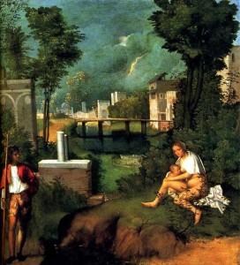 Tempest by Giorgione