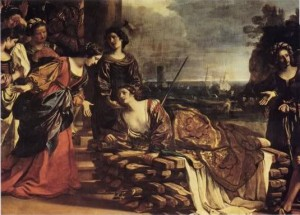 Death of Dido, Guercino
