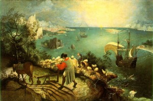 Pieter Bruegel, Icarus