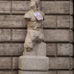 The Pasquino statue, Rome