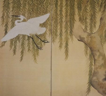 Heron Willow Tree  Kiitsu