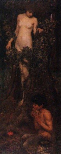 Hamadryads (1895) Waterhouse