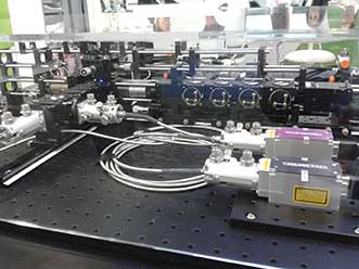 The working flow cytometer as shown at several trade shows and conferences worldwide.