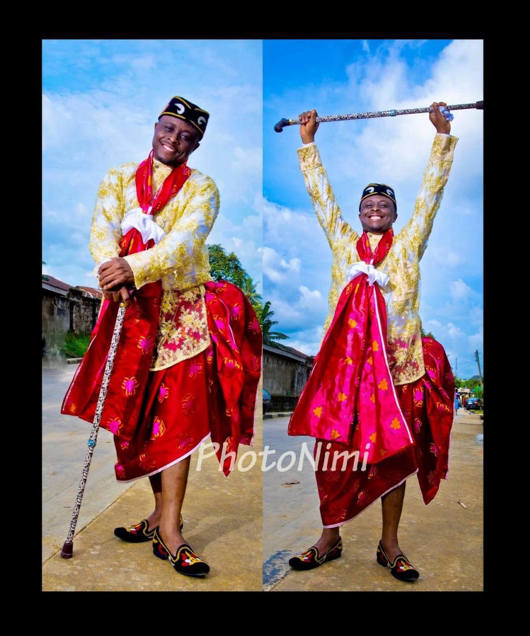 groom in traditional wedding attire, photonimi