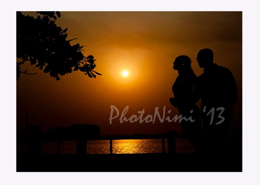 pre-wedding, sea-side romance
