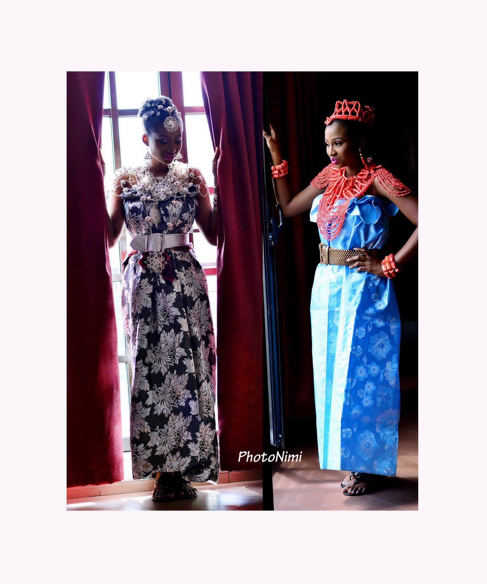 Jemi dressed Itsekiri way