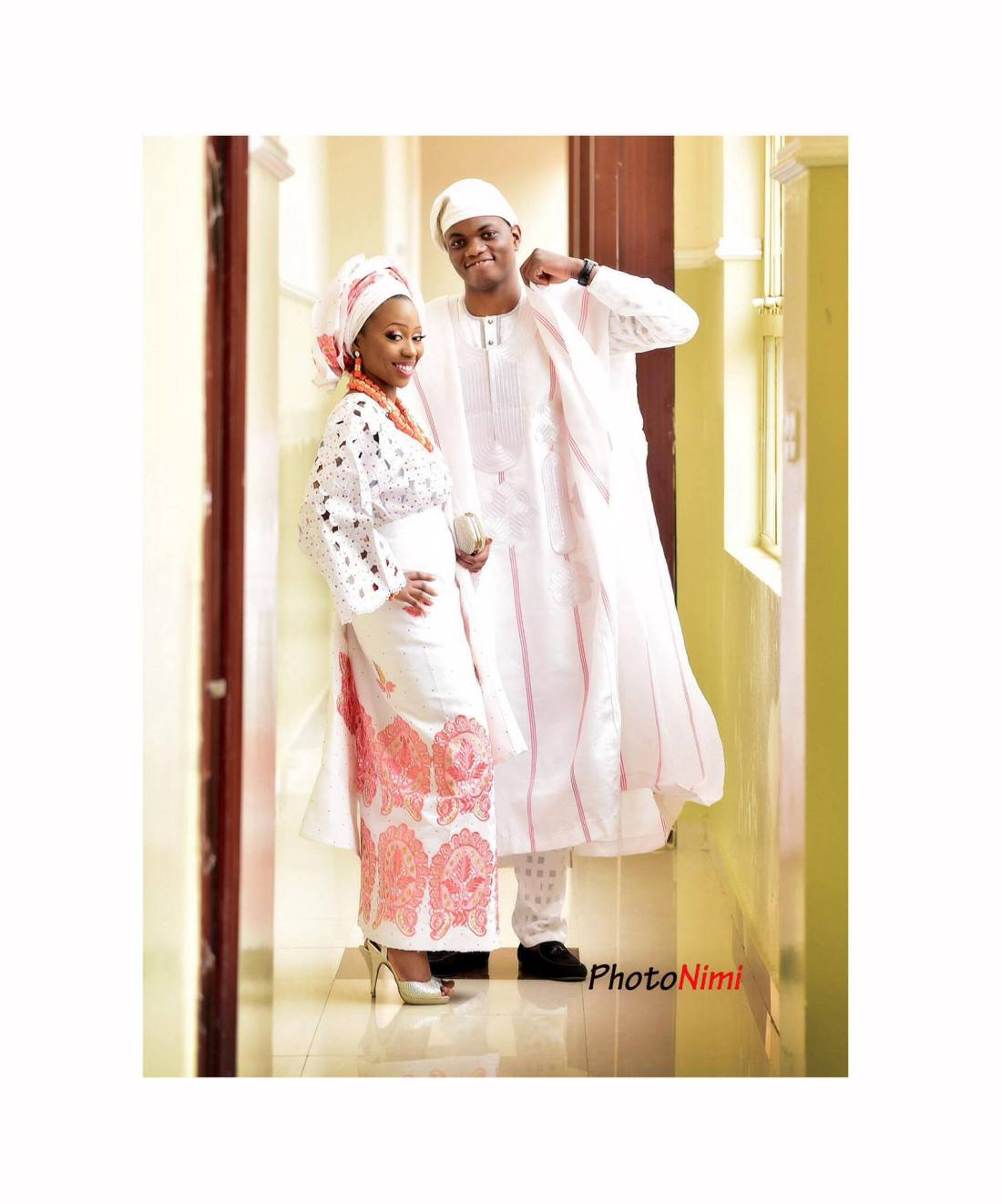 Mope and Niyi on their Trad