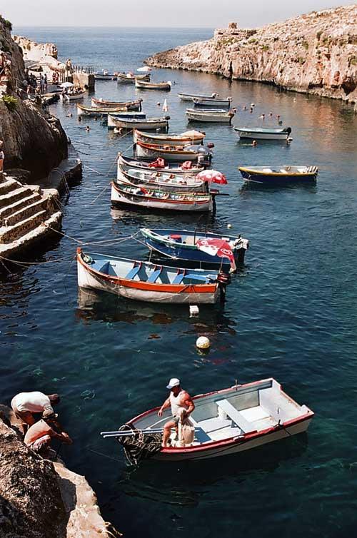 Blue Grotto Port