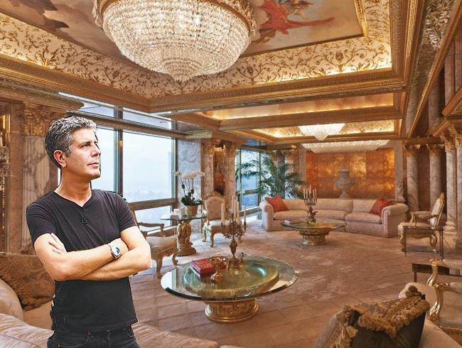 Donald Trump Photos Apartment