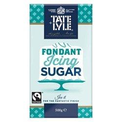 A 500g packet of fondant icing sugar