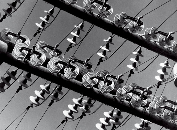 Insulated High Tension Wires from Die Welt Ist Schon by Albert Renger-Patzsch (1928)