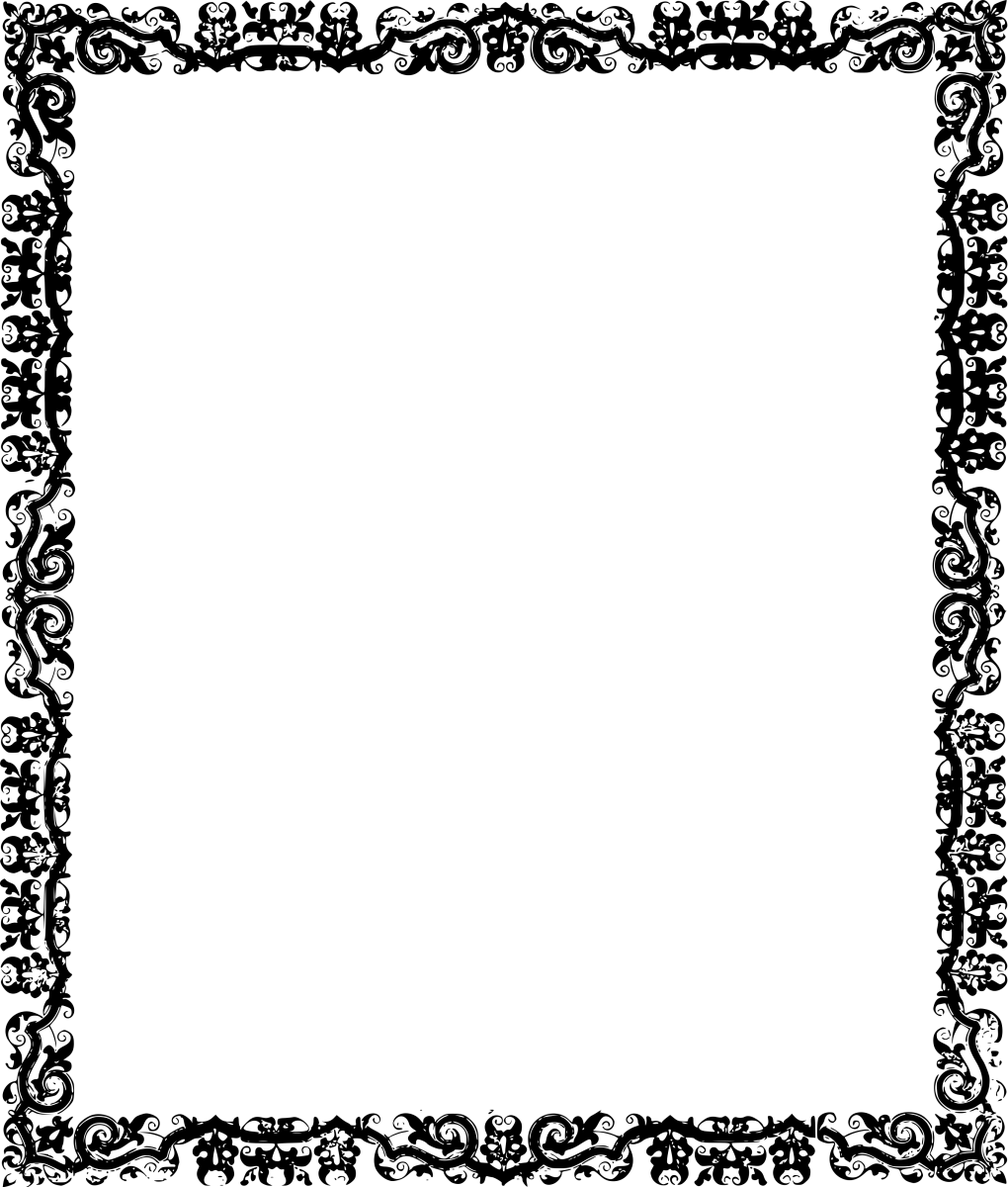 Music Celtic frame border