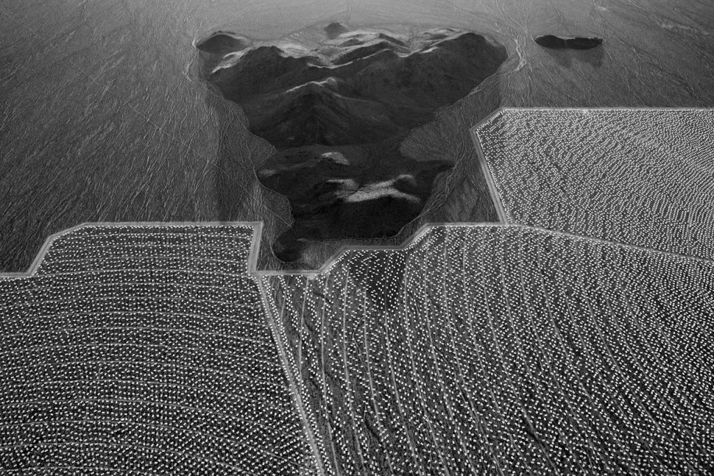"""Jamey Stillings: #9499 from the series """"The Evolution of Ivanpah Solar"""""""
