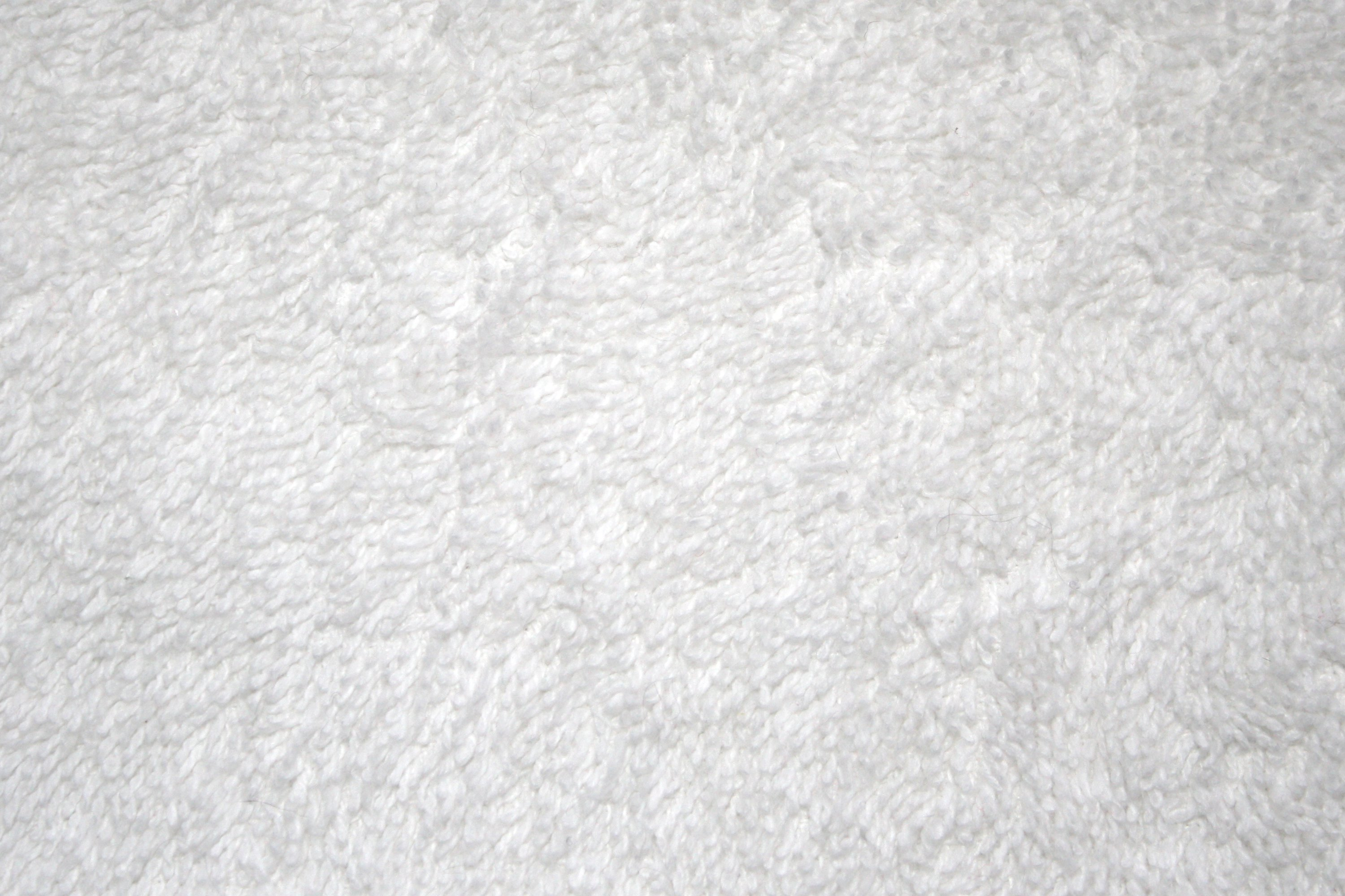 White Terry Cloth Closeup Texture Picture
