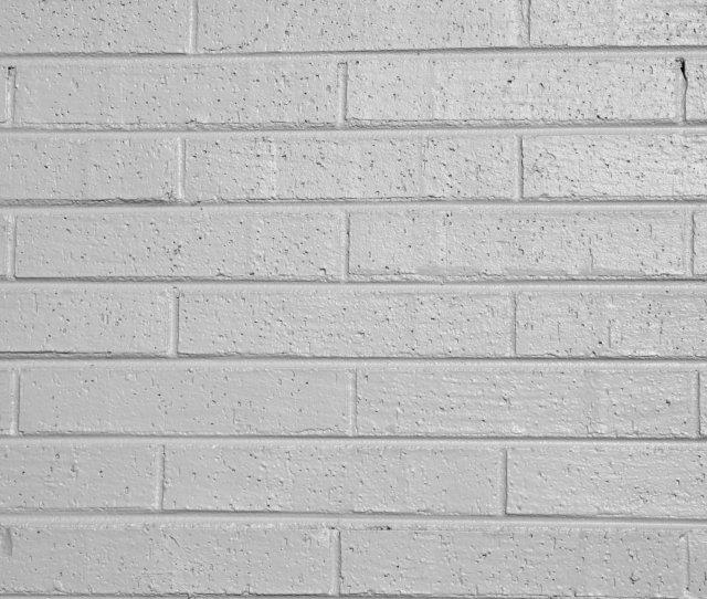 Gray Painted Brick Wall Texture