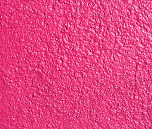 Hot Pink Painted Wall Texture