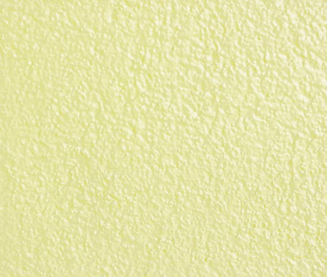 Pale Yellow Painted Wall Texture