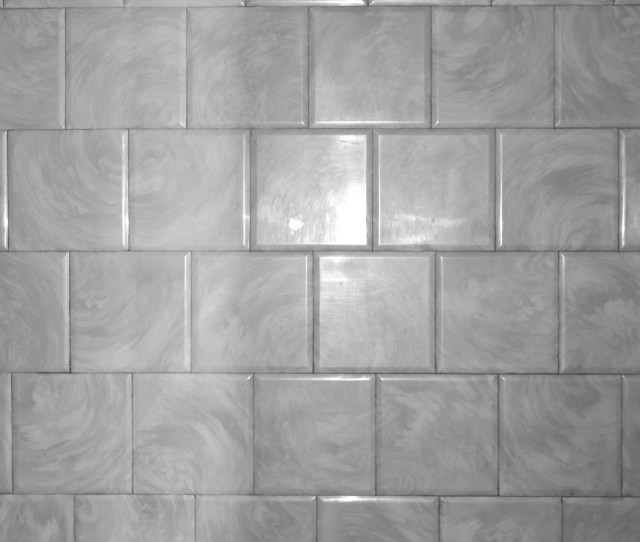 Gray Bathroom Tile With Swirl Pattern Texture
