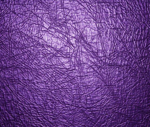 Purple Leather Texture Close Up