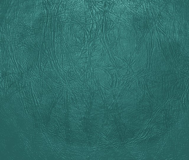 Teal Leather Close Up Texture