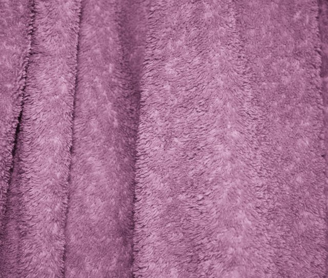 Mauve Terry Cloth Bath Towel Texture