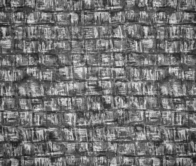 Black And White Abstract Squares Fabric Texture