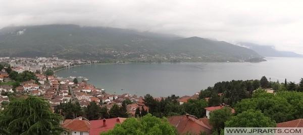 Ohri Gölü ve Ohri Şehri (Makedonya)