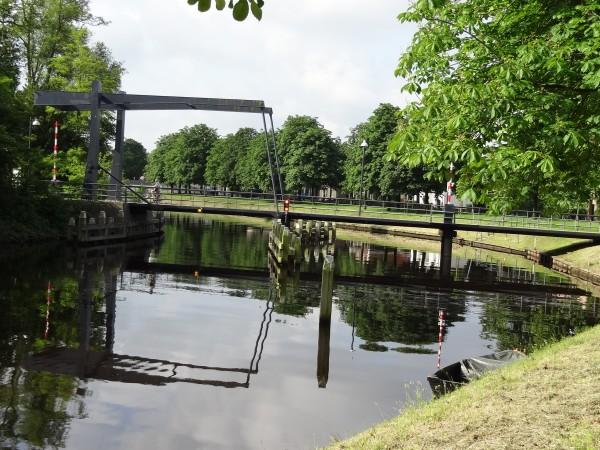 Pampertbrug Coevorden (Nederland)