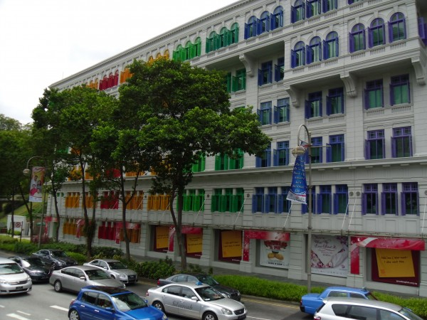 Colorful houses Clarke Quay