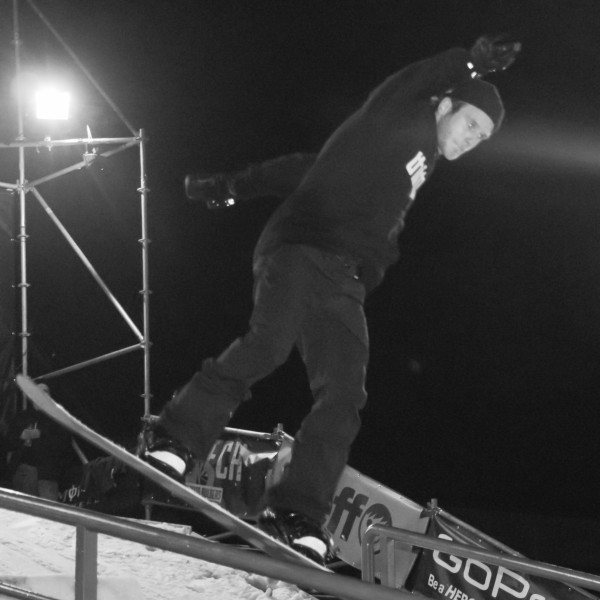 Rididng the rail with Benny Urban