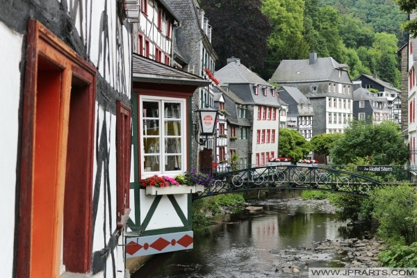View on river in Monschau