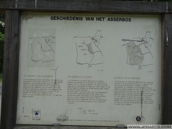 Geschichte Asserbos (Assen, Niederlande)